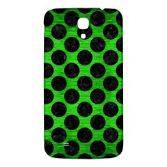 Circles2 Black Marble & Green Brushed Metal (r) Samsung Galaxy Mega I9200 Hardshell Back Case by trendistuff