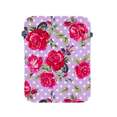 Shabby Chic,pink,roses,polka Dots Apple Ipad 2/3/4 Protective Soft Cases by 8fugoso