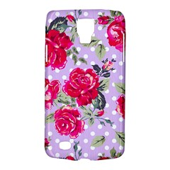Shabby Chic,pink,roses,polka Dots Galaxy S4 Active by 8fugoso