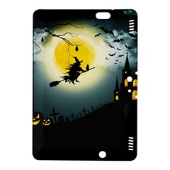 Halloween Landscape Kindle Fire Hdx 8 9  Hardshell Case by Valentinaart