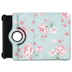 Shabby Chic,pink,roses,polka Dots Kindle Fire Hd 7  by 8fugoso