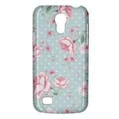 Shabby Chic,pink,roses,polka Dots Galaxy S4 Mini by 8fugoso