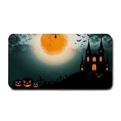 Halloween Landscape Medium Bar Mats by Valentinaart