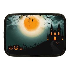 Halloween Landscape Netbook Case (medium)  by Valentinaart