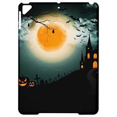 Halloween Landscape Apple Ipad Pro 9 7   Hardshell Case by Valentinaart