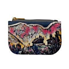Modern Abstract Painting Mini Coin Purses by 8fugoso