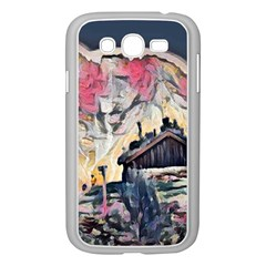 Modern Abstract Painting Samsung Galaxy Grand Duos I9082 Case (white) by Love888