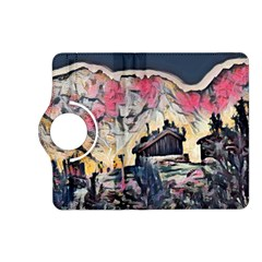 Modern Abstract Painting Kindle Fire Hd (2013) Flip 360 Case by 8fugoso