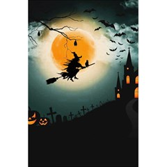 Halloween Landscape 5 5  X 8 5  Notebooks by Valentinaart