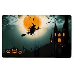 Halloween Landscape Apple Ipad 3/4 Flip Case by Valentinaart