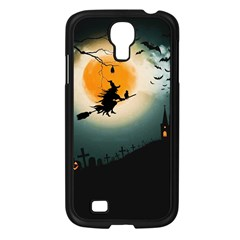 Halloween Landscape Samsung Galaxy S4 I9500/ I9505 Case (black) by Valentinaart