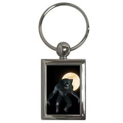 Werewolf Key Chains (rectangle)  by Valentinaart
