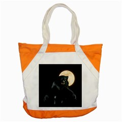 Werewolf Accent Tote Bag by Valentinaart