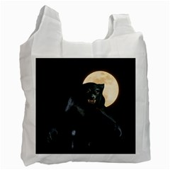 Werewolf Recycle Bag (one Side) by Valentinaart