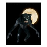 Werewolf Shower Curtain 60  x 72  (Medium)  54.25 x65.71 Curtain