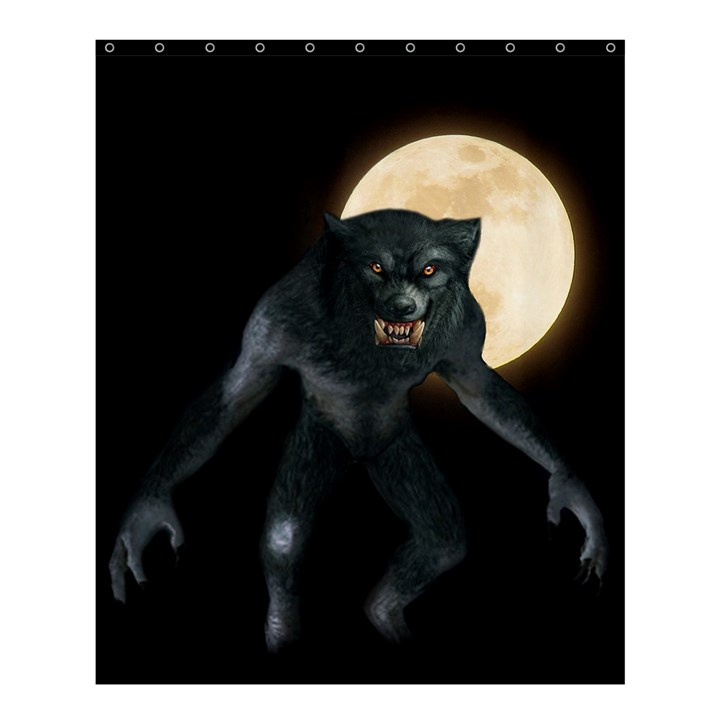 Werewolf Shower Curtain 60  x 72  (Medium)