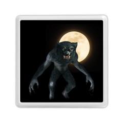 Werewolf Memory Card Reader (square)  by Valentinaart