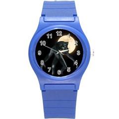 Werewolf Round Plastic Sport Watch (s) by Valentinaart