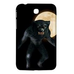 Werewolf Samsung Galaxy Tab 3 (7 ) P3200 Hardshell Case  by Valentinaart