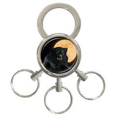 Werewolf 3 Ring Key Chains by Valentinaart