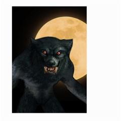 Werewolf Large Garden Flag (two Sides) by Valentinaart