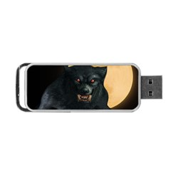 Werewolf Portable Usb Flash (two Sides) by Valentinaart