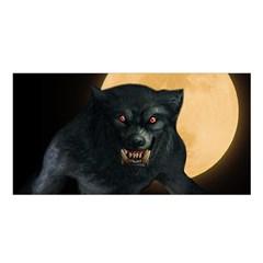 Werewolf Satin Shawl by Valentinaart