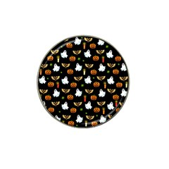 Halloween Pattern Hat Clip Ball Marker (10 Pack) by Valentinaart