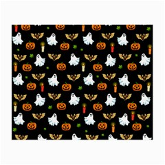 Halloween Pattern Small Glasses Cloth by Valentinaart