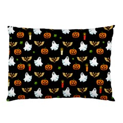 Halloween Pattern Pillow Case (two Sides) by Valentinaart