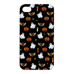 Halloween Pattern Apple Iphone 4/4s Hardshell Case by Valentinaart