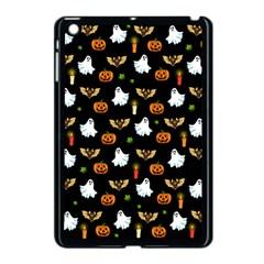 Halloween Pattern Apple Ipad Mini Case (black) by Valentinaart