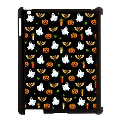 Halloween Pattern Apple Ipad 3/4 Case (black) by Valentinaart