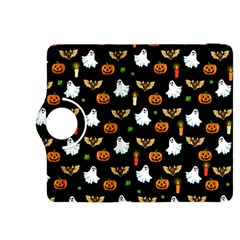 Halloween Pattern Kindle Fire Hdx 8 9  Flip 360 Case by Valentinaart