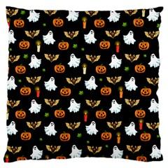 Halloween Pattern Standard Flano Cushion Case (one Side) by Valentinaart