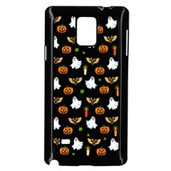 Halloween Pattern Samsung Galaxy Note 4 Case (black)