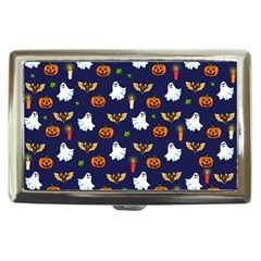Halloween Pattern Cigarette Money Cases by Valentinaart
