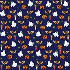 Halloween Pattern Magic Photo Cubes by Valentinaart