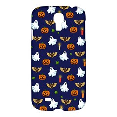 Halloween Pattern Samsung Galaxy S4 I9500/i9505 Hardshell Case by Valentinaart