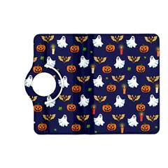 Halloween Pattern Kindle Fire Hd (2013) Flip 360 Case by Valentinaart