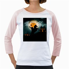 Headless Horseman Girly Raglans by Valentinaart