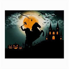 Headless Horseman Small Glasses Cloth (2 Side) by Valentinaart