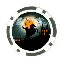 Headless Horseman Poker Chip Card Guard by Valentinaart