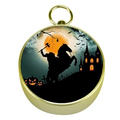 Headless Horseman Gold Compasses by Valentinaart