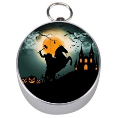 Headless Horseman Silver Compasses by Valentinaart