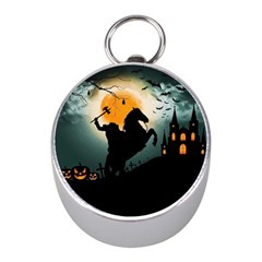 Headless Horseman Mini Silver Compasses by Valentinaart