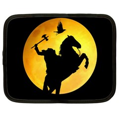 Headless Horseman Netbook Case (xl)  by Valentinaart