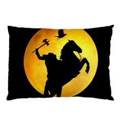 Headless Horseman Pillow Case (two Sides) by Valentinaart