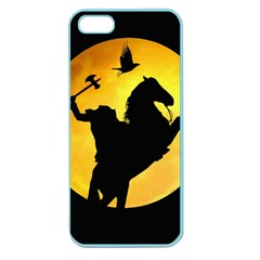 Headless Horseman Apple Seamless Iphone 5 Case (color) by Valentinaart