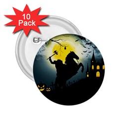 Headless Horseman 2 25  Buttons (10 Pack)  by Valentinaart